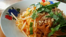 Padthai gastronome thaïlandais Photos stock