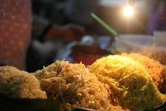 Padthai-@Street Lebensmittel Bangkok Thailand Lizenzfreie Stockbilder