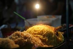 Padthai-@Street Lebensmittel Bangkok Thailand Stockfoto