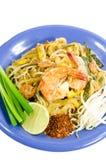 Padthai, Tajlandzki jedzenie Zdjęcia Stock