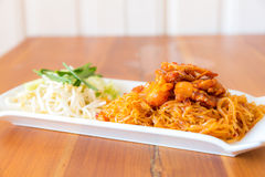 Padthai thai noodle Royalty Free Stock Photo