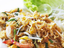 Padthai, Thailand traditional food Royalty Free Stock Photography