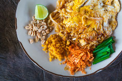 Padthai, Thailand traditional food Royalty Free Stock Photo