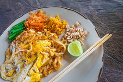 Padthai, Thailand traditional food Royalty Free Stock Photos