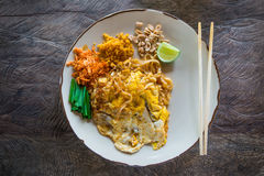 Padthai, Thailand traditional food Stock Photography