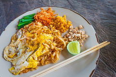 Padthai, Thailand traditional food Stock Photos