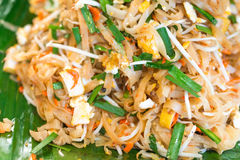 Padthai traditional noodle dish Stock Photos