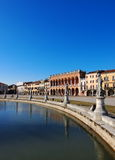Padua. Famous big square in Padua, Italy, photo was taken in February Royalty Free Stock Images