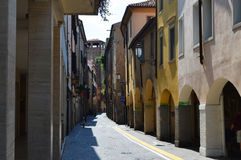 Padua alley Royalty Free Stock Photography