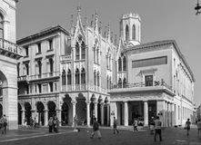Padua - The Caffe Pedrocchi from south. Stock Image