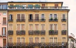 Padua, casas Foto de archivo libre de regalías