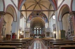 Padua - The church San Francesco del Grande. Stock Photo