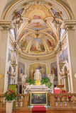 Padua - das Presbyterium der Kirche Chiesa di San Daniele Lizenzfreie Stockfotos