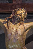 Padua - The detail of Crucifixion statue in the church Chiesa di San Gaetano and the chapel of the Crucifixion Royalty Free Stock Image