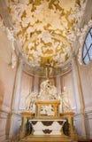 Padua - die Kapelle von Pieta durch Filippo Parodi (1689) in den chruch Basilikadi Santa Giustina Stockfotos