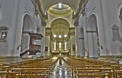 Padua - el cubo principal de la catedral de la iglesia de Santa Maria Assunta (Duomo) Foto de archivo