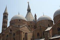 Padua, iglesia de Sant'Antonio Imágenes de archivo libres de regalías