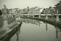 Padua, Italië: Della Valle van Prato stock foto