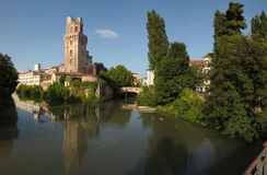 Padua, Italië: La Specola royalty-vrije stock afbeeldingen