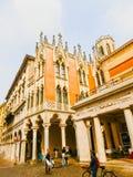 Padua, Italië - September 19, 2014: Palazzo, de historische bouw Royalty-vrije Stock Fotografie