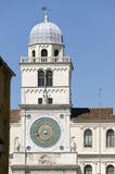 Padua Italy  Capitanio Palace clock tower Stock Image