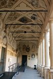 Palazzo Bo historical building home of the Padova University from 1539 royalty free stock images