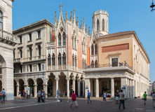 PADUA, ITALY - SEPTEMBER 8, 2014: The Caffe Pedrocch stock images