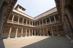 Padua, Oud Universitair hof Stock Foto