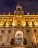 Padua   Palazzo del Podesta at night. Stock Photos