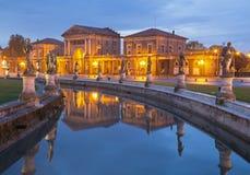 Padua - Prato della Valle in evening Royalty Free Stock Photo