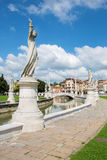 Padua - Prato della Valle from south Royalty Free Stock Photo