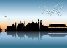 Padua skyline - Italy - vector illustration Royalty Free Stock Photography