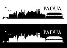 Padua skyline - Italy - vector illustration Stock Photo