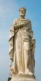 Padua - Statue on Prato della Valle Stock Image