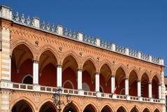 Padua: Venetiaanse Overwelfde galerij Royalty-vrije Stock Afbeeldingen