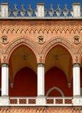 Padua: Venetiaanse Overwelfde galerij Royalty-vrije Stock Foto
