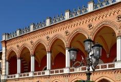 Padua: Venetiaanse Overwelfde galerij Royalty-vrije Stock Foto's