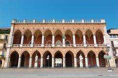 Padua - The Venetian palace neart the Prato della Vale. Stock Image