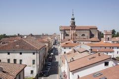 Padua-Zitadellecommon Stockfotografie