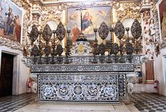 Padula altar royalty free stock images