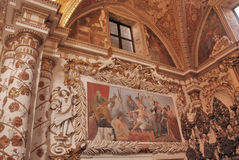 PADULA : CERTOSA DI SAN LORENZO.ITALIA Stock Photography