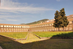 PADULA : CERTOSA DI SAN LORENZO.ITALIA Stock Images