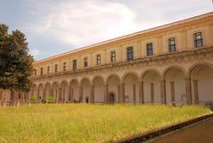 PADULA : CERTOSA DI SAN LORENZO.ITALIA Stock Image