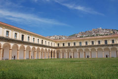 PADULA : CERTOSA DI SAN LORENZO.ITALIA Royalty Free Stock Image