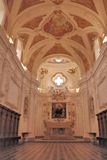 PADULA : CERTOSA DI SAN LORENZO.ITALIA Royalty Free Stock Images