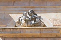 Padula Charterhouse. Campania. Italy. Royalty Free Stock Photo