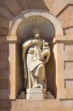 Padula Charterhouse. Campania. Italy. Royalty Free Stock Photos