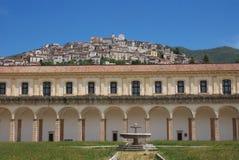 PADULA: DI SAN LORENZO DE CERTOSA Italia Imagenes de archivo