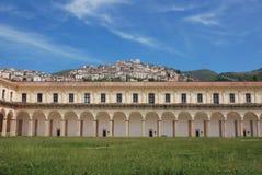 PADULA: DI SAN LORENZO DE CERTOSA Italia Foto de archivo libre de regalías