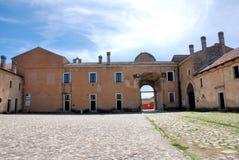 PADULA: DI SAN LORENZO DE CERTOSA Italia Fotografía de archivo libre de regalías